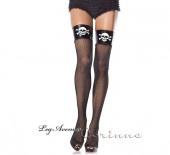 Vinyl and skulls top stockings - leg avenue (a favourite gothic punk clothes repin of VIP Fashion Australia )