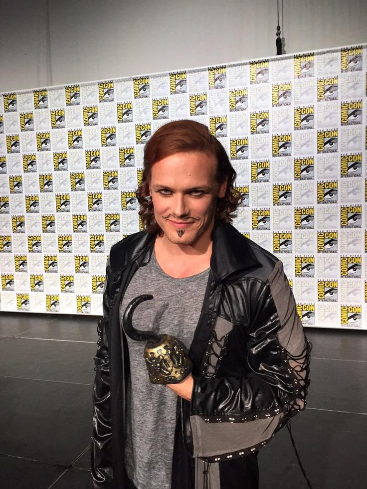 Pirate Sam (Outlander San Diego Comic Con)- Sam Heughan #Outlander @samheughan #sdcc