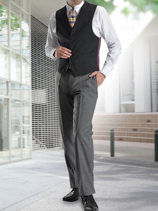 品良くキマる!ニットタイと合わせた紳士なベストスタイル | 【公式】メンズスーツ・ドレスシャツのスーツスタイルMARUTOMI 本店サイト/紳士服のオンラインショップ