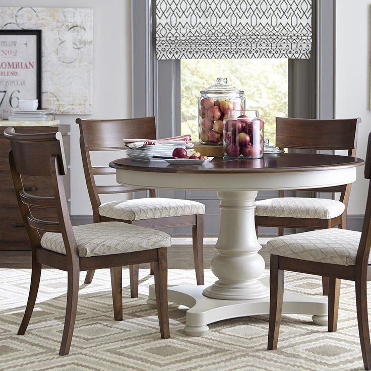 1000 ideas about round pedestal tables on pinterest round kitchen tables round dining room - Round pedestal kitchen table sets ...