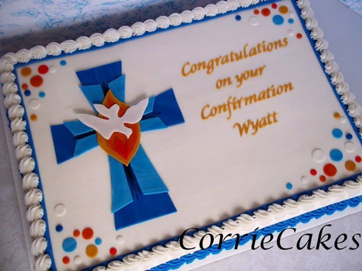 Confirmation cake by CorrieCakes - I really like this one