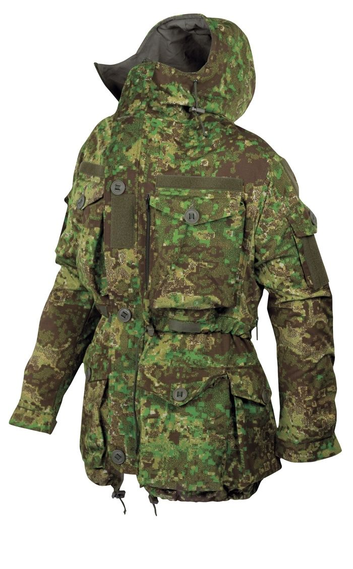 Köhler Einsatzkampfjacke Ripstop PenCott Greenzone