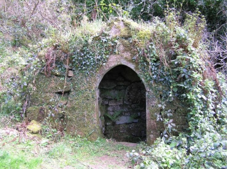 Sacred Well:  St. Breward's Well, near Camelford, Cornwall, England.