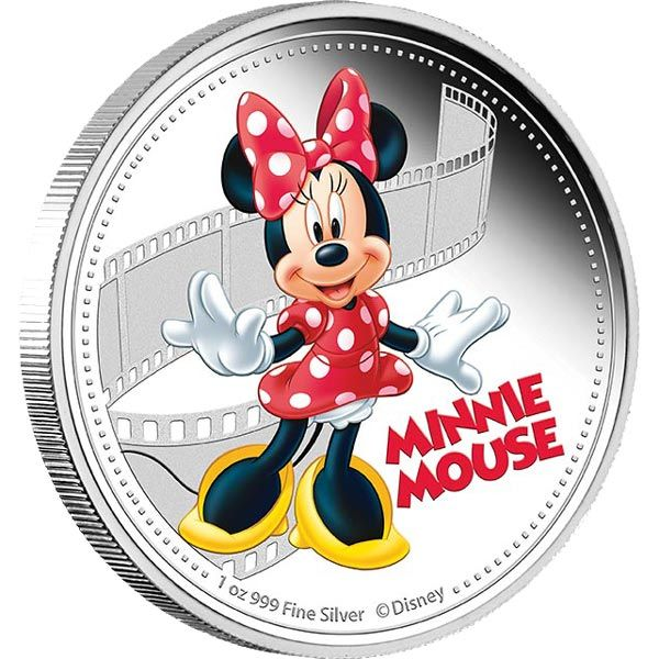 Minnie Mouse - 1oz pure silver limited edition collectibles