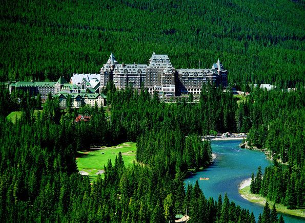 Fairmont Banff Springs Hotel  Banff National Forest  Banff, Alberta, Canada
