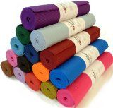 Bean Yoga Mat Extra Thick 1/4 inch (6mm), Extra Long 72 inch, Premium Sticky Mat, Non Toxic SGS certified, Yoga Monster,...