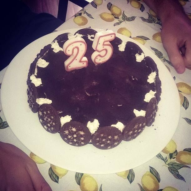 Torta Pandistelle (compleanno 25 anni)