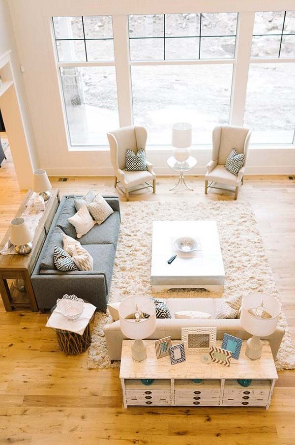 How To Arrange Furniture In A Large Square Living Room Couches Ethan Allen Light Filled Rooms 40 Absolutely Brilliant Ideas Inspiration Designs
