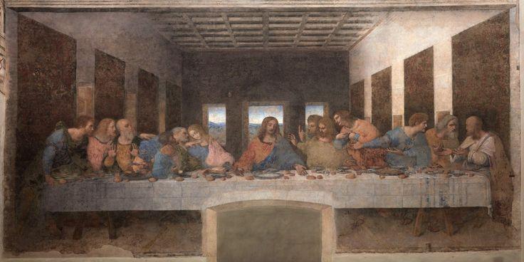 LEONARDO DA VINCI, ultima cena, 1494-1499