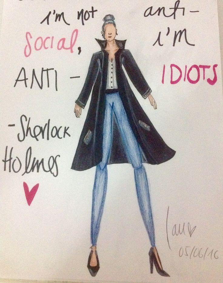 ❤️Love this Sherlock's quote❤️