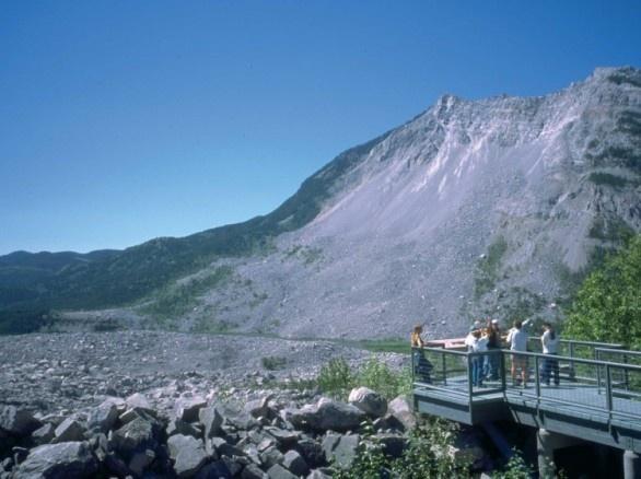 Frank Slide, Crowsnest Pass, Alberta
