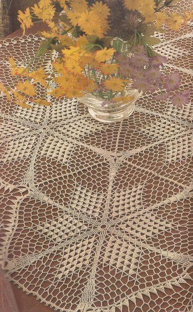 108 best images about tapetes a crochet on pinterest - Esquema punto estrella crochet ...