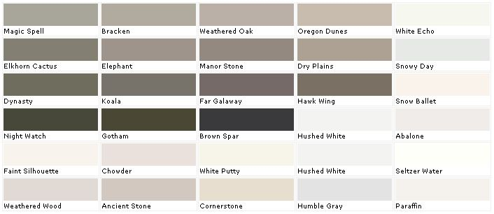 Valspar Paints, Valspar Paint Colors, Valspar Lowes - American Tradition - samples, swatches, paint chips, palettes (Ancient Stone)
