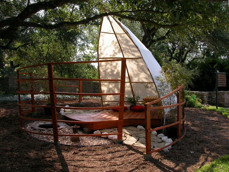 Feng Shui garden idea