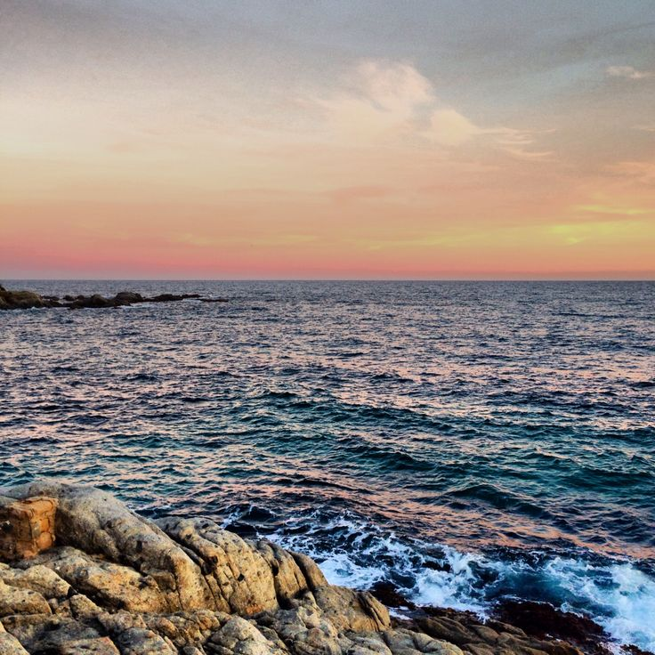 #Sunset in Calella de Palafrugell, Costa Brava