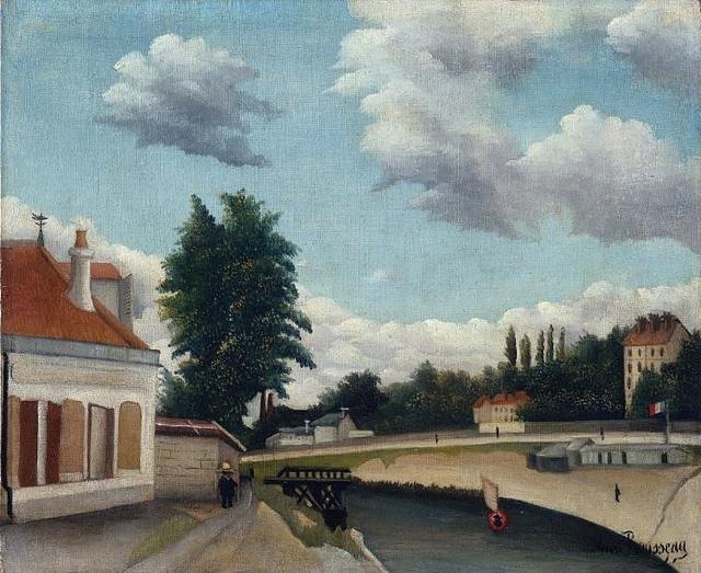 Henri Rousseau: Outskirts of Paris (1897-1905)