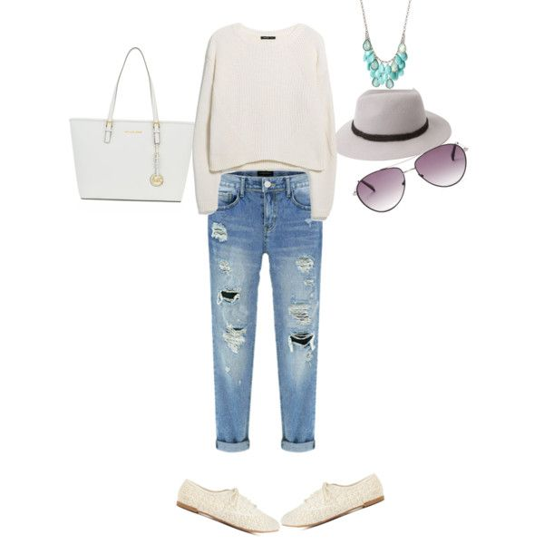 Casual Days by mirelacrihana on Polyvore featuring polyvore, beauty, BCBGMAXAZRIA, Forever 21, MICHAEL Michael Kors, MANGO and Charlotte Russe