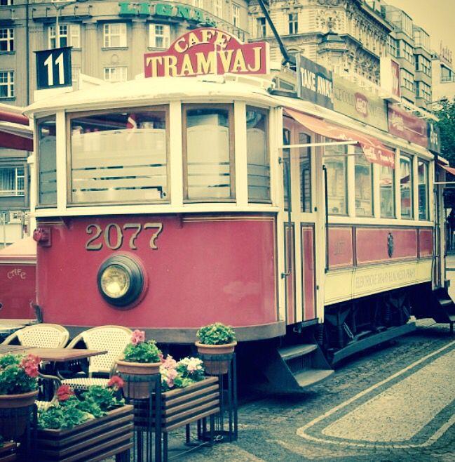 Café Tramvaj, Praha ❤️