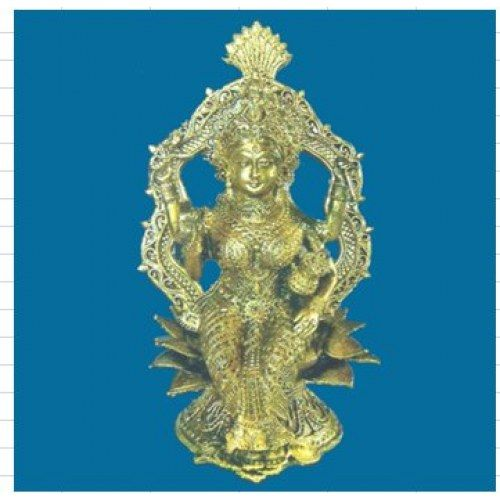 Dokra Home Decor Goddess Laxmi For Prosperity