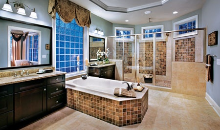 Toll Brothers The Raphael Master Bathroom at Hasentree in Wake Forest, NC. www.tollbrothers.com/NC