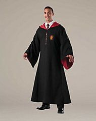 Gryffindor Robe & Tie Set for Adults