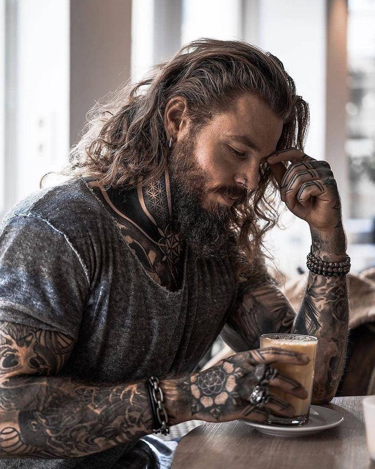 Miesten Pitkät Hiukset