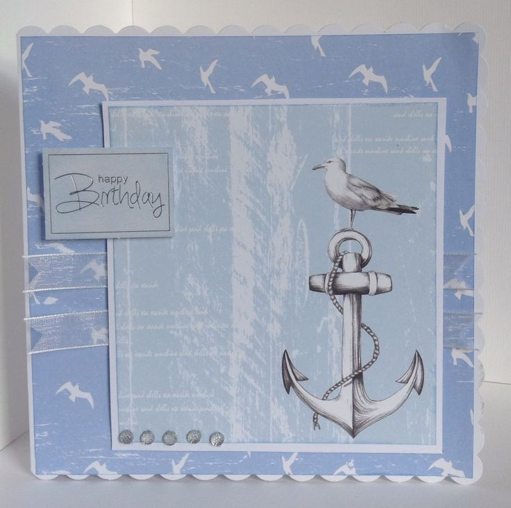 Card designed by Kay Fletcher using Harbour Boulevard paper pad