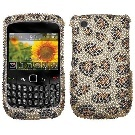 Hard Diamante Protector Skin Cover (Faceplate/Snap On) Full Rhinestones Diamond Bling for RIM Blackberry Curve 8520 AT,T-Mobile - Leopard Skin/Camel Amazon Marketplace