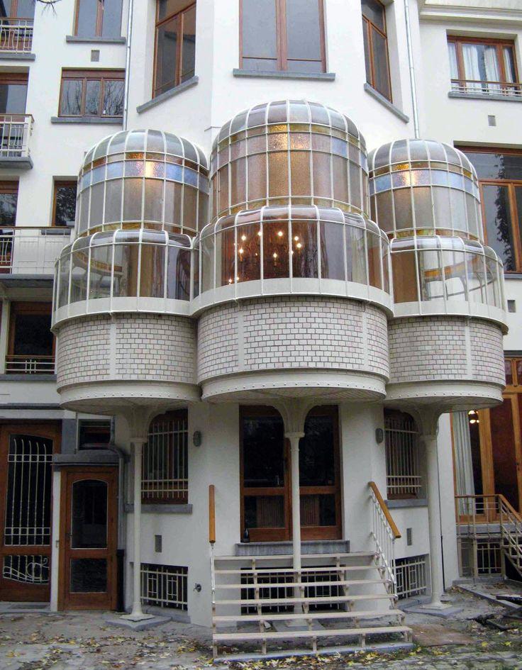Art nouveau hotel max hallet bruxelles victor horta for Architecte de jardin bruxelles