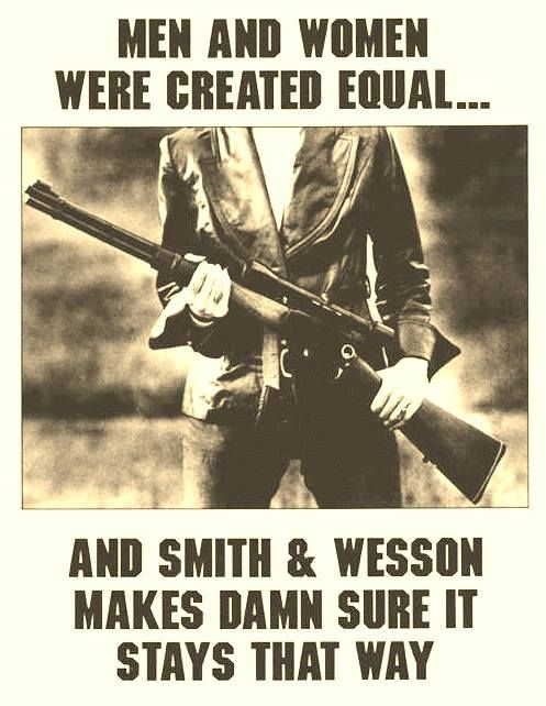 .Smith and Wesson....have never let me down.