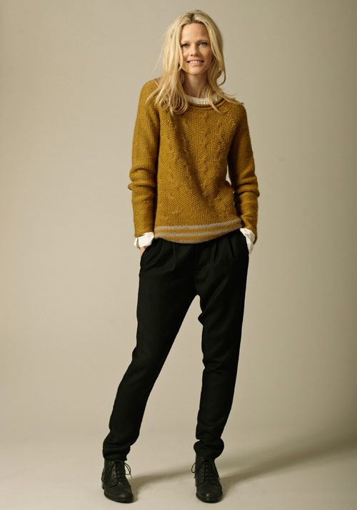 Our lovely pullover jumper in wasabi what a fab colour from NoaNoa
