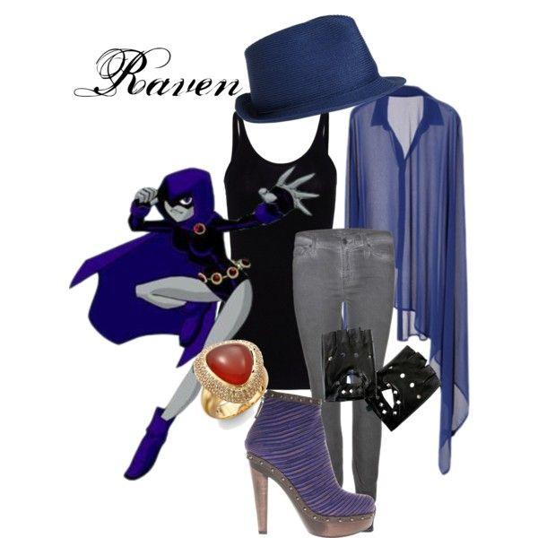 Raven from Teen Titans!