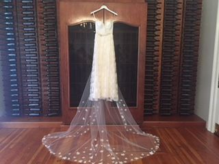 Sarah Seven Bedford Wedding Dress for sale