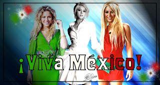 SHAKIRA DESCARGAS: Imagenes del mes patrio (Bandera de México)