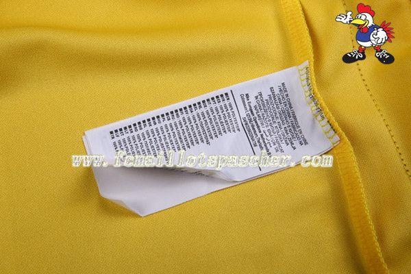 jeux de Survetement Du Elite Manchester City Jaune 16 17 18 Homme Kits avec flocage