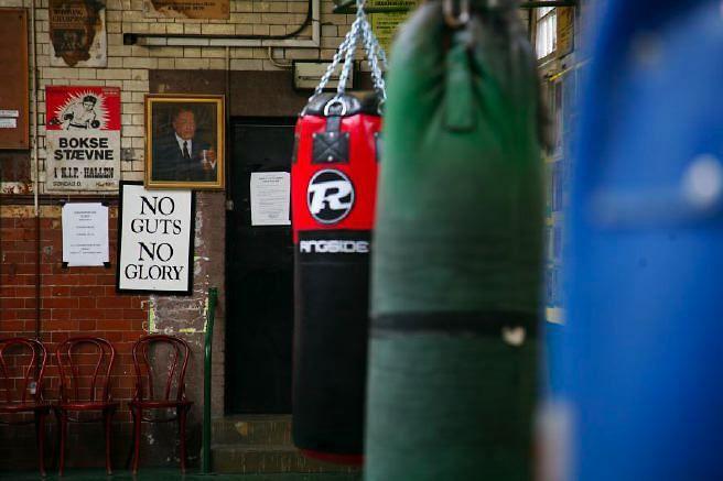 Boxing gym hdr