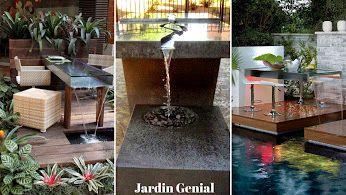 Jardin Génial – Google+ Необычный дизайн стола - украсит Ваш сад и создаст  романтическую атмосферу.  #JardinGenial #ландшафтный_дизайн #Озеленение #Освещение #Полив #Постройки_на_участке