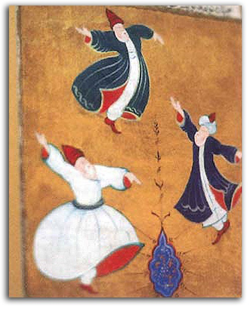 Three Sufi Dancers