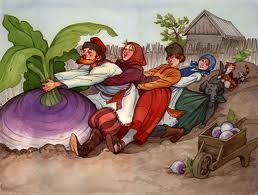 The Big Turnip ~ Russian Folk Tale