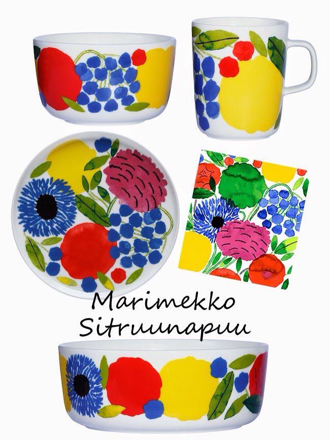 Primavera!Marimekko Lemon tree
