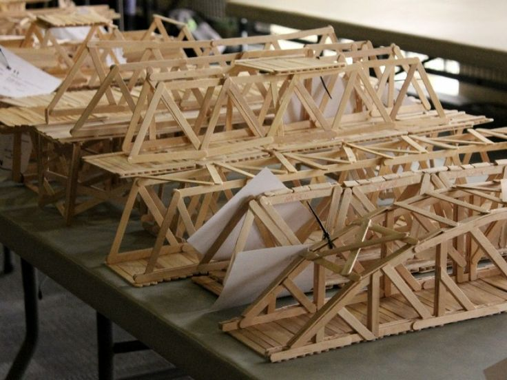 The 25+ best Popsicle stick bridges ideas on Pinterest ...