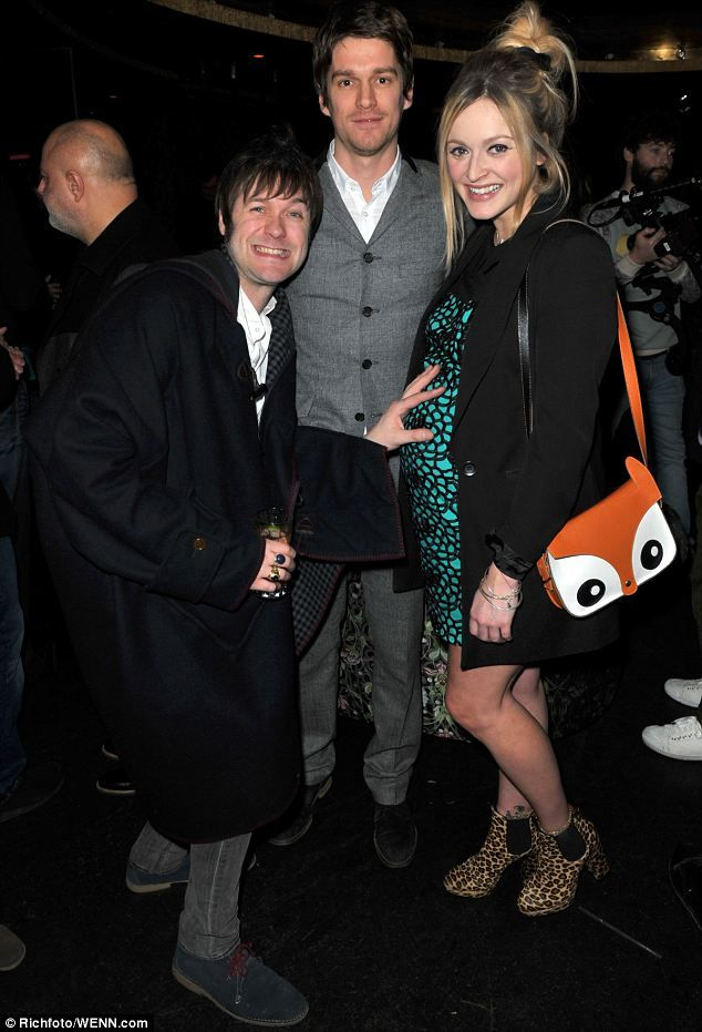 Love this photo! Tom Meighan, Jesse Wood & Fearne Cotton! <3 Tom