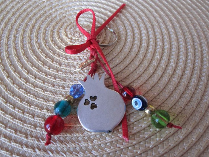 Lucky 17 charms / keychains /Home charm by MykonosByBoni on Etsy