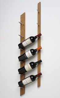you can totally make this wine rack