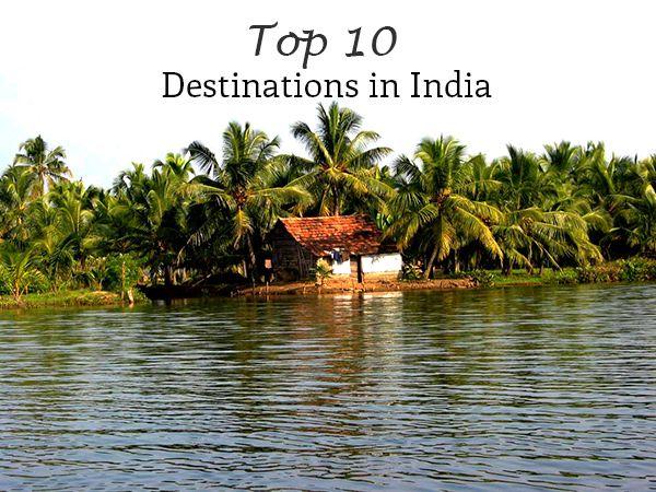 Top 10 Destinations in India #travel #india