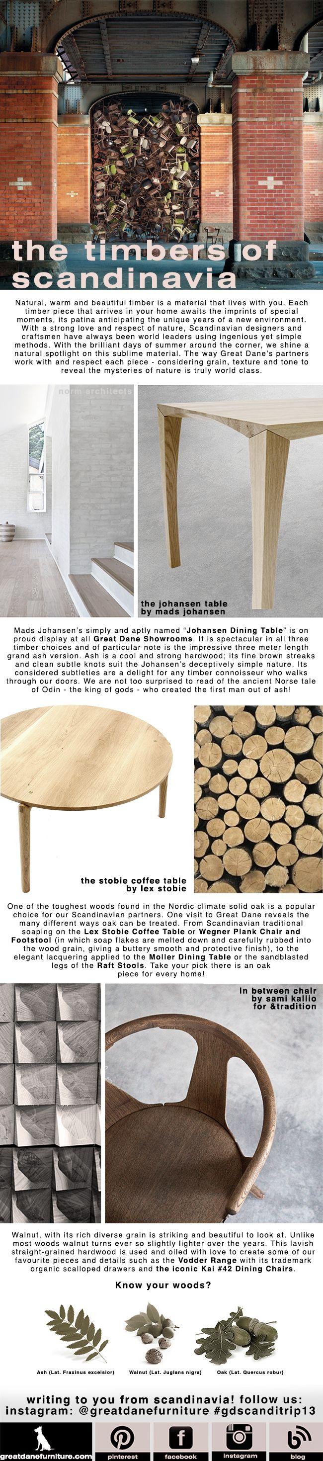 The Timbers of Scandinavia