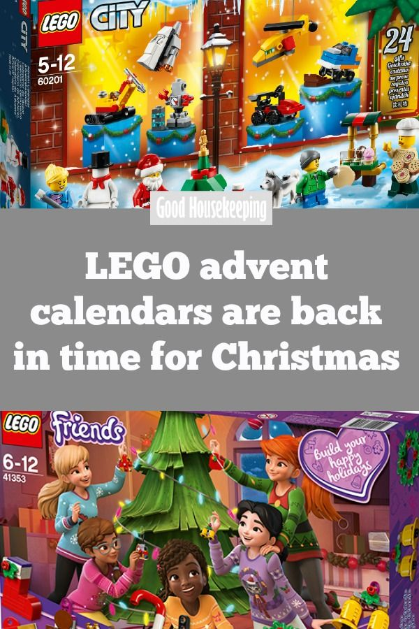 Lego Advent Calendars Are Back In Time For Christmas Lego Advent