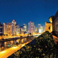 A vista do Shopping Cidade Jardim: São Paulo mais bonita