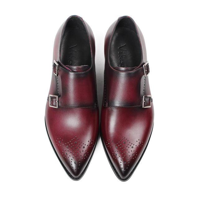 Double monk strap shoes, Dress shoes