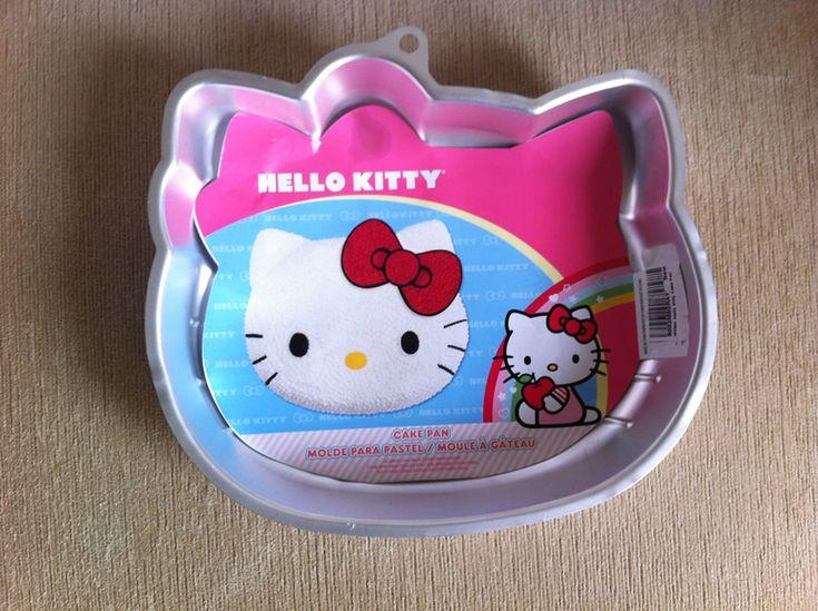 Forma de Bolo da Hello Kitty
